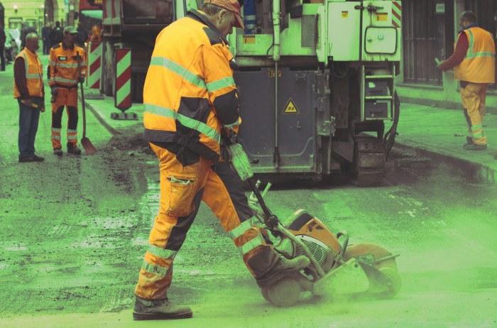 trabajador expuesto a ruido