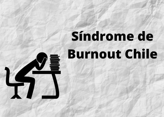 portada Síndrome de Burnout en Chile